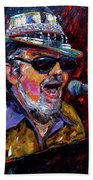 Dr. John Portrait Beach Towel