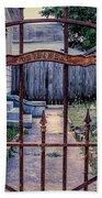 Dr. Lines Gate - Nola Beach Towel