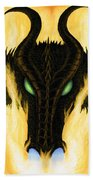 Draco Beach Towel