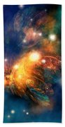Draconian Nebula Beach Towel by Corey Ford