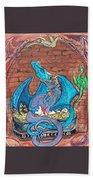 Dragon Family Beach Towel