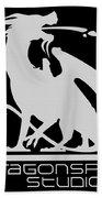 Dragon Spit Studios Logo Beach Towel