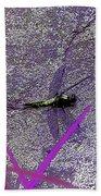 Dragonfly 2 Beach Towel