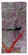 Dragonfly 3 Beach Towel