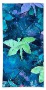 Dragonfly Blues Beach Towel
