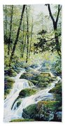 Dragonfly Creek Beach Towel