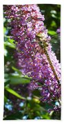 Dragonfly On The Butterfly Bush Beach Towel