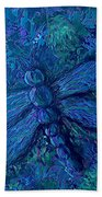 Dragonfly Series B Beach Towel