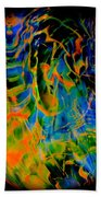 Dragons And Wizards Beach Towel