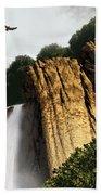 Dragons Den Canyon Beach Towel