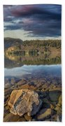 Drano Lake In Washington State Beach Towel