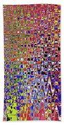 Drawing Color Abstract#5335wctw Beach Towel
