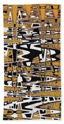 Drawing Composition Abstract Beach Towel