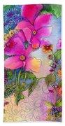 Dream Flowers Beach Towel