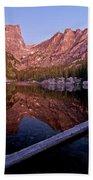 Dream Lake Beach Towel by Gary Lengyel