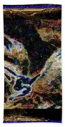 Dream Of The Horse With Painted Wings  Beach Towel