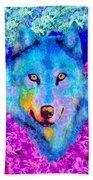 Dream Wolf Beach Towel