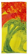 Dreaming And Shadows Beach Towel