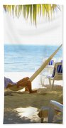 Dreaming Beach Towel