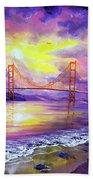 Dreaming Of San Francisco Beach Towel