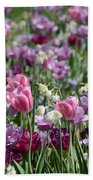 Dreaming Of Tulips Beach Towel