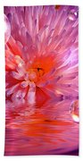 Dreams 3 Chrysanthemum Beach Towel