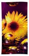 Dreams 4 - Sunflower Beach Towel