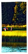 Dreams Can Fly Paint Beach Towel