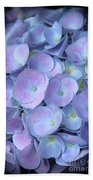 Dreamy Hydrangea In Purple And Blue  Beach Towel