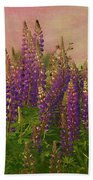 Dreamy Lupin Beach Towel