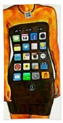 Dressing Iphone Beach Towel
