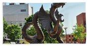 Drexel University Dragon - Philadelphia Pa Beach Towel