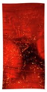 Dried Red Pepper Beach Towel