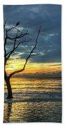 Driftwood Beach Sunrise Jekyll Island Georgia Beach Towel