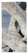 Driftwood Detail Beach Towel