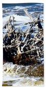 Driftwood Lace Beach Towel
