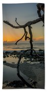 Driftwood Sunrise Beach Towel