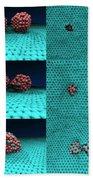 Drilling Of Graphene Nanoparticles Beach Towel