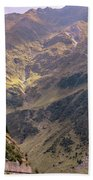 Drive In The Mountains Beach Towel