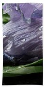 Droplets Of Nature Beach Towel