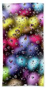 Drops And Candies Beach Towel