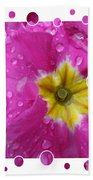 Drops Upon Raindrops 5 Beach Towel