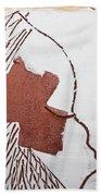 Drowsy - Tile Beach Towel