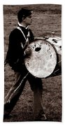Drummer Boy Beach Towel