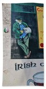 Dublin Street Art Beach Towel