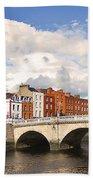 Dublin's Fairytales Around  River Liffey 3 Beach Towel