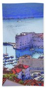 Dubrovnik Beach Towel