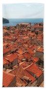 Dubrovnik Old Town Beach Towel
