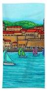 Dubrovnik Regatta Beach Towel