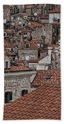 Dubrovnik Rooftops #3 Beach Towel